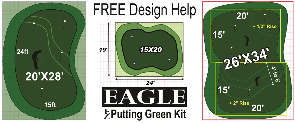 Backyard Putting Greens For The Do It Yourselfer(DIY) And ...