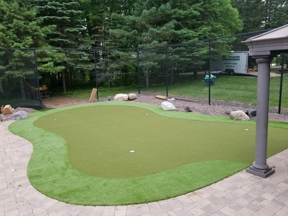 nylon practice putting green
