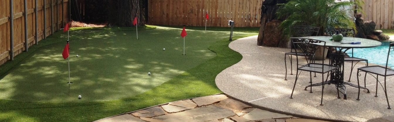 PGA nylon putting green